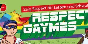 "Strafraum Sachsen 2.0 bei den ""Respect Gaymes"" in Berlin"