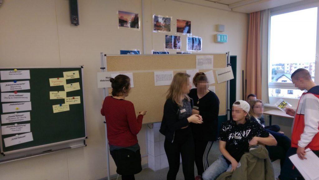 Verschiedene Workshops in der Oberschule Naunhof ...